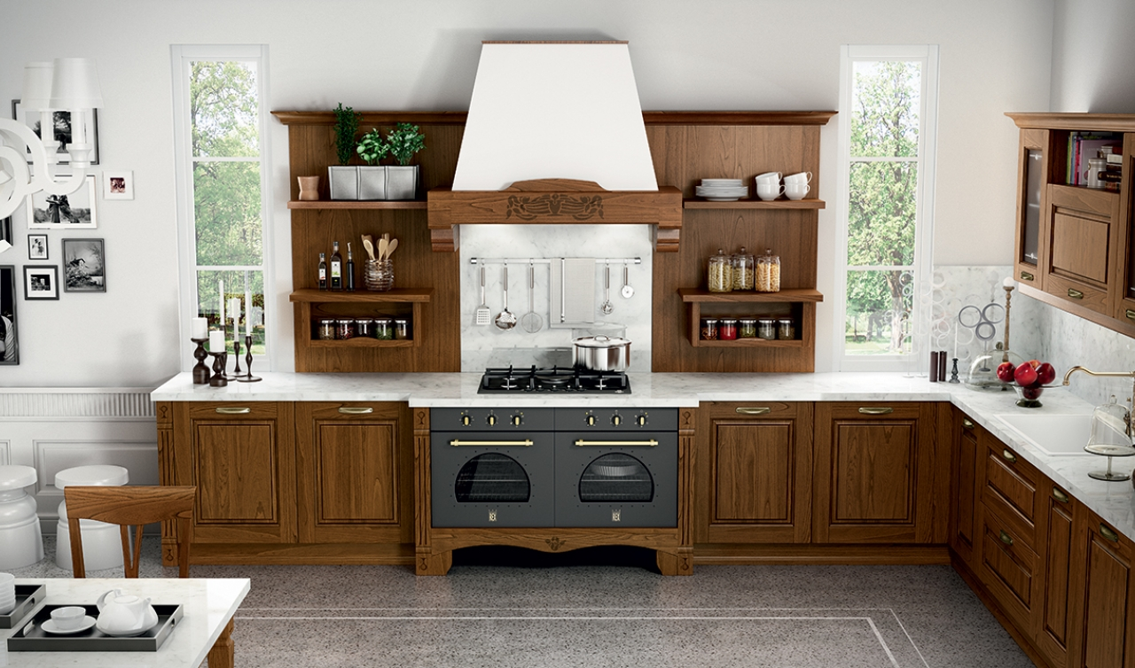 Classic Kitchen Arredo3 Verona Model 02 - 02