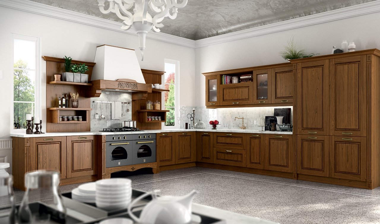 Classic Kitchen Arredo3 Verona Model 02 - 05
