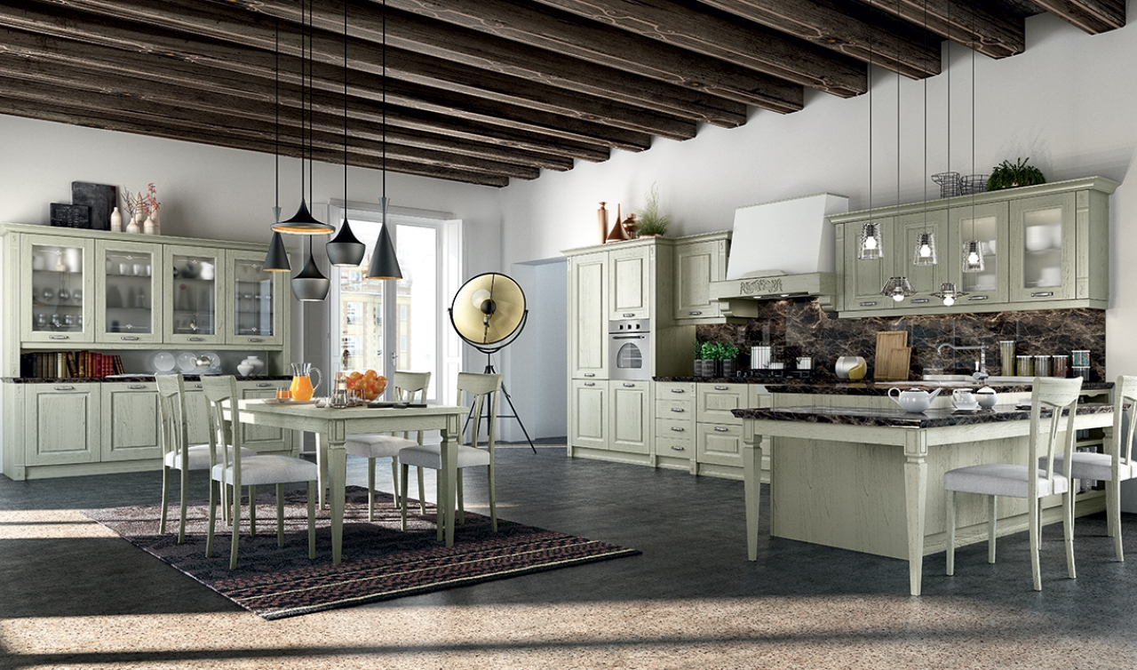 Classic Kitchen Arredo3 Verona Model 03