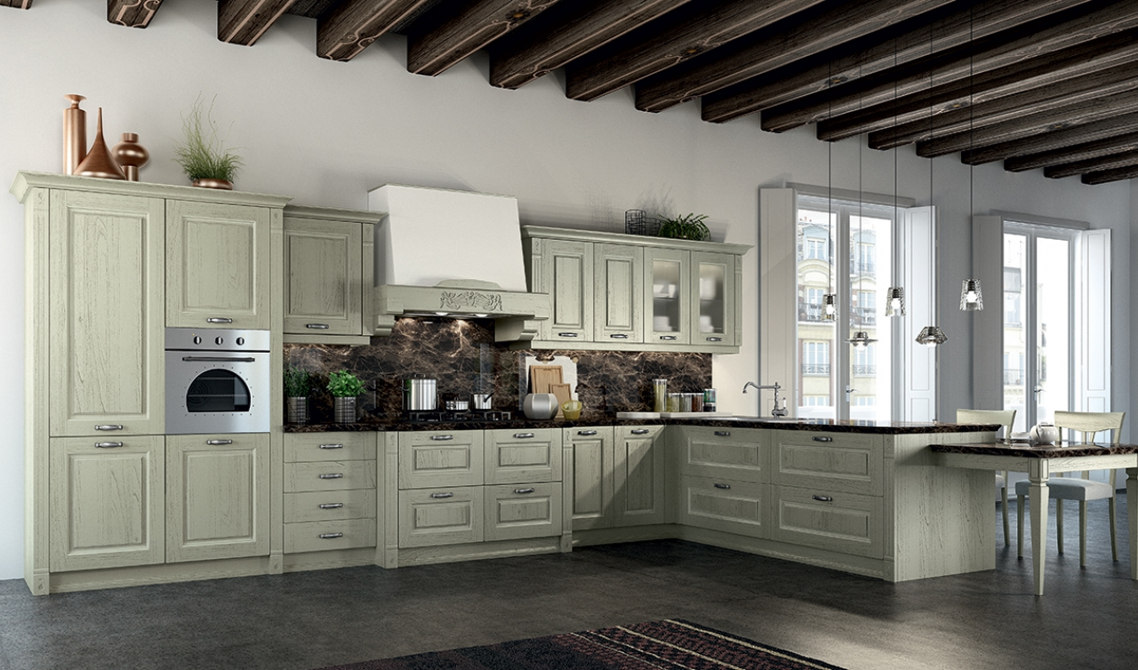 Classic Kitchen Arredo3 Verona Model 03 - 03