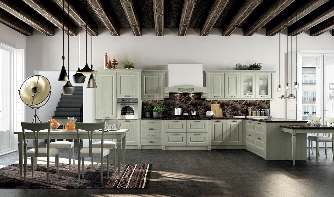 Classic Kitchen Arredo3 Verona Model 03 - 05