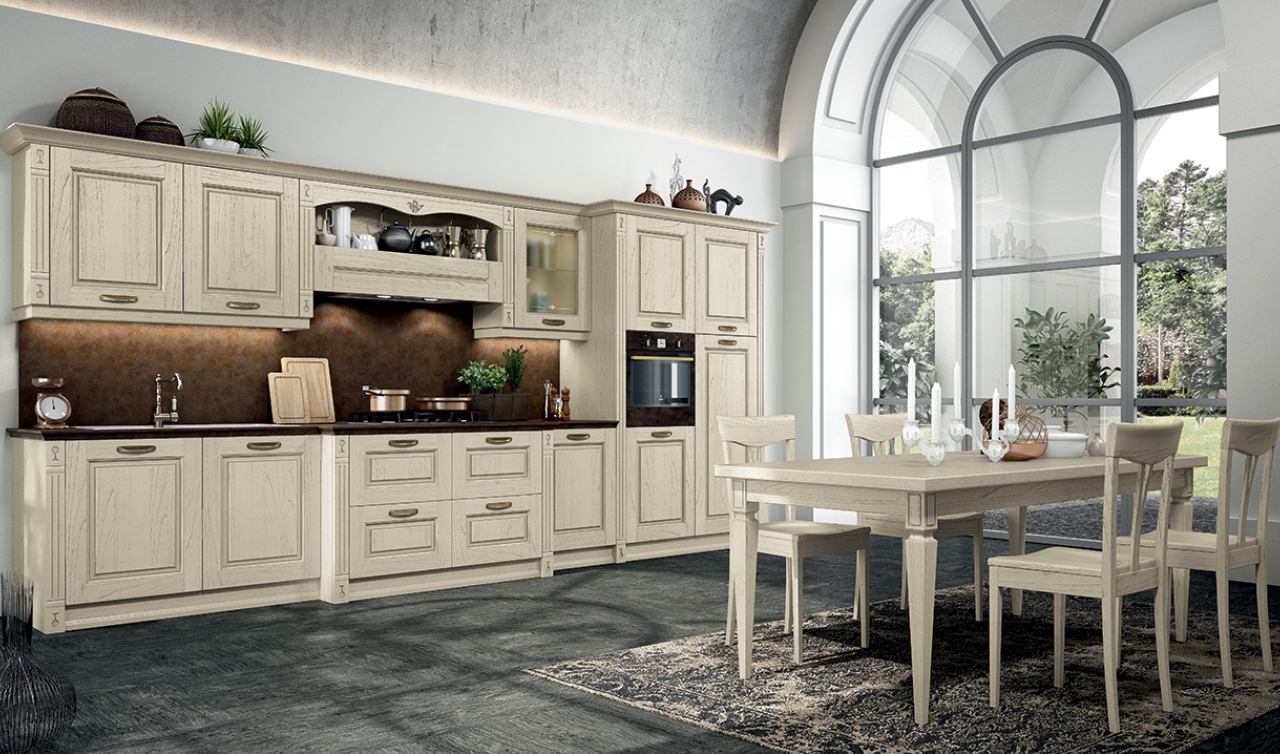 Classic Kitchen Arredo3 Verona Model 04 - 03