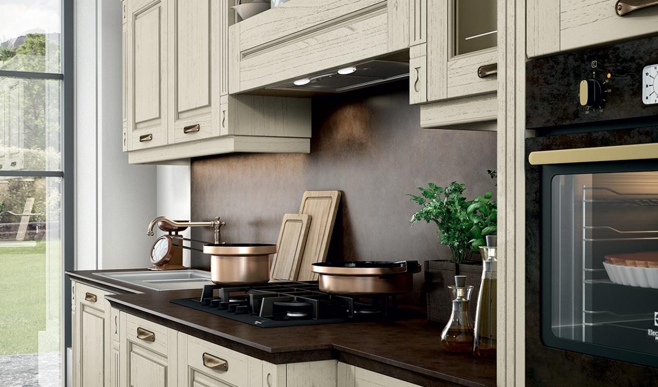 Classic Kitchen Arredo3 Verona Model 04 - 04