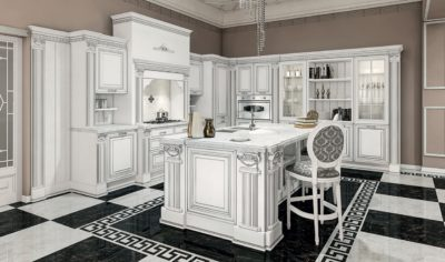 Classic Kitchen Arredo3 Viktoria Model 01 - 02