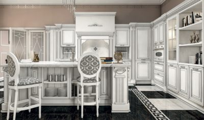 Classic Kitchen Arredo3 Viktoria Model 01 - 04