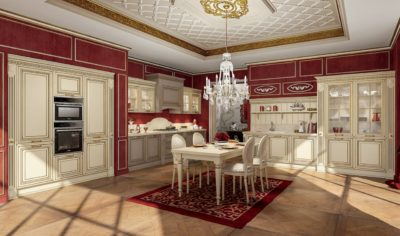Classic Kitchen Arredo3 Viktoria Model 02 - 01