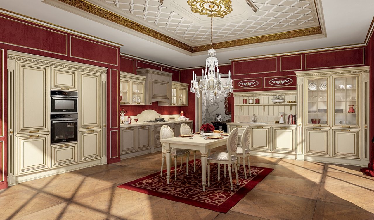 Classic Kitchen Arredo3 Viktoria Model 02