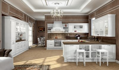 Classic Kitchen Arredo3 Viktoria Model 04 - 01