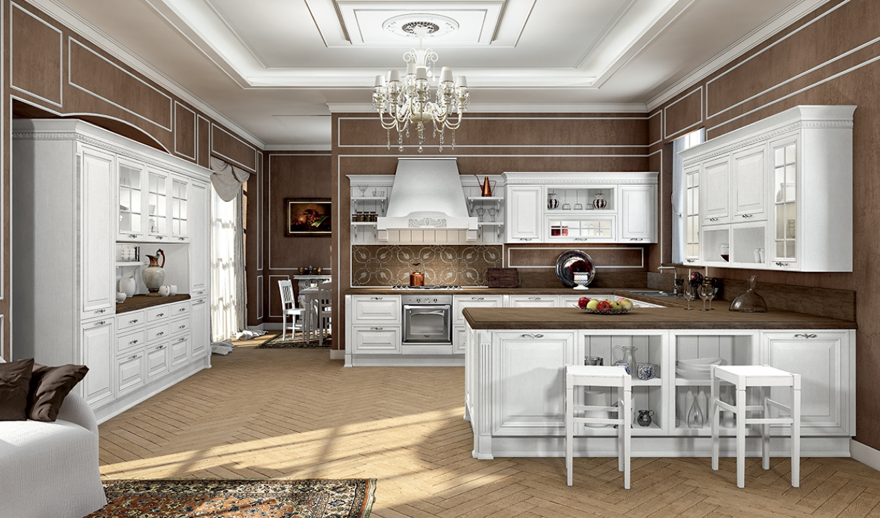 Classic Kitchen Arredo3 Viktoria Model 04