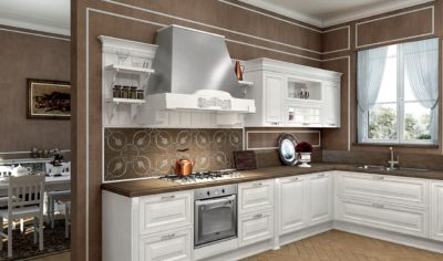 Classic Kitchen Arredo3 Viktoria Model 04 - 02