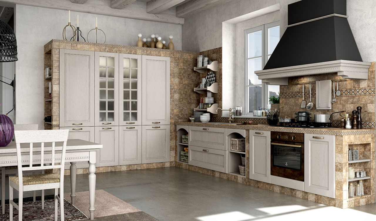 Classic Kitchen Arredo3 Virginia Model 05 - 04