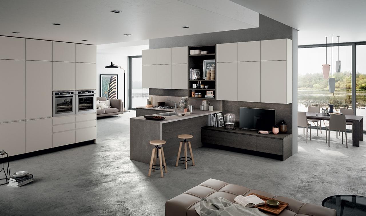 Modern Kitchen Arredo3 Wega Model 01