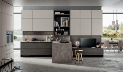 Modern Kitchen Arredo3 Wega Model 01 - 02