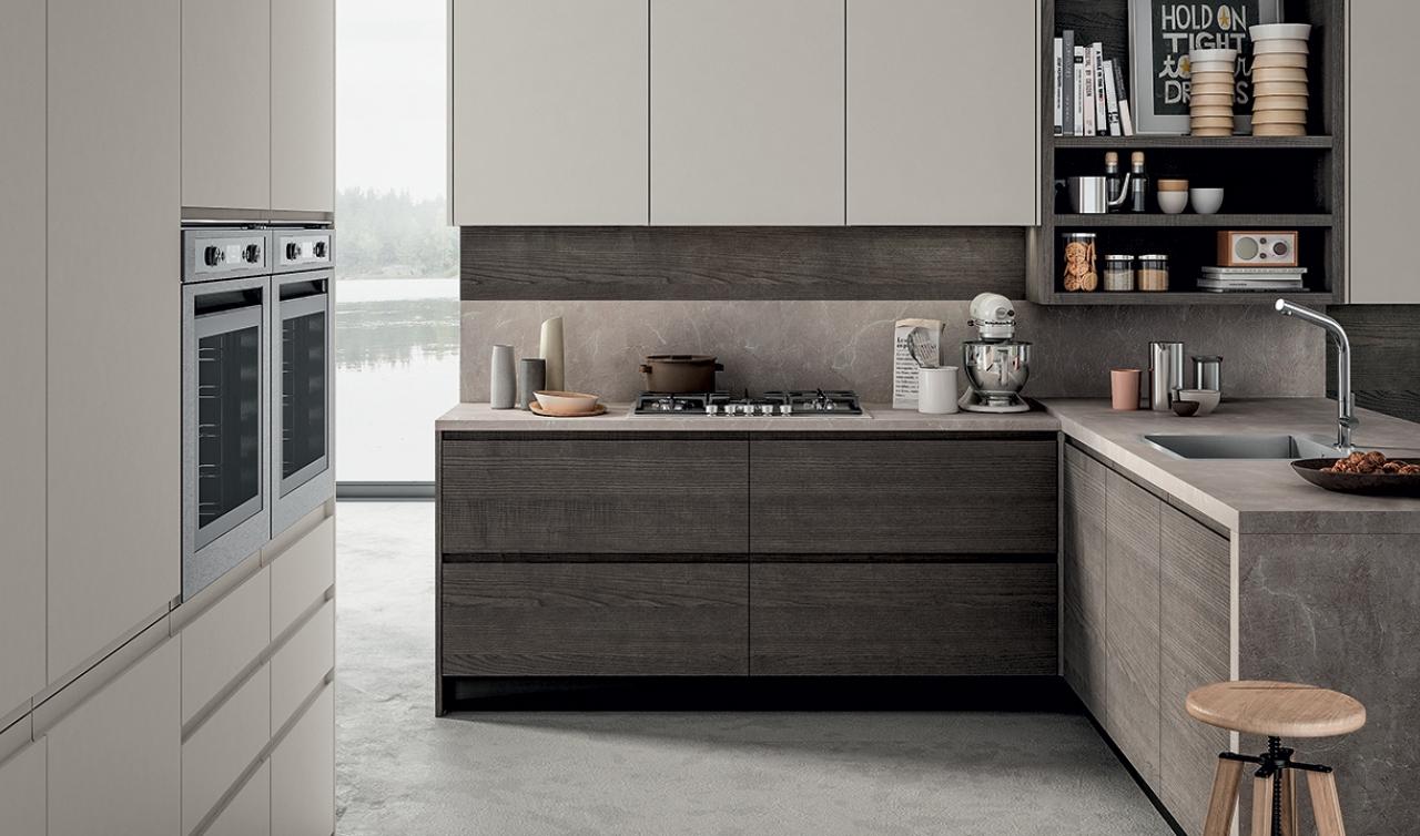 Modern Kitchen Arredo3 Wega Model 01 - 04