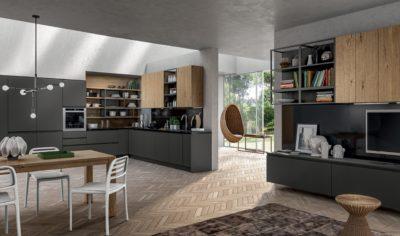 Modern Kitchen Arredo3 Wega Model 02 - 01