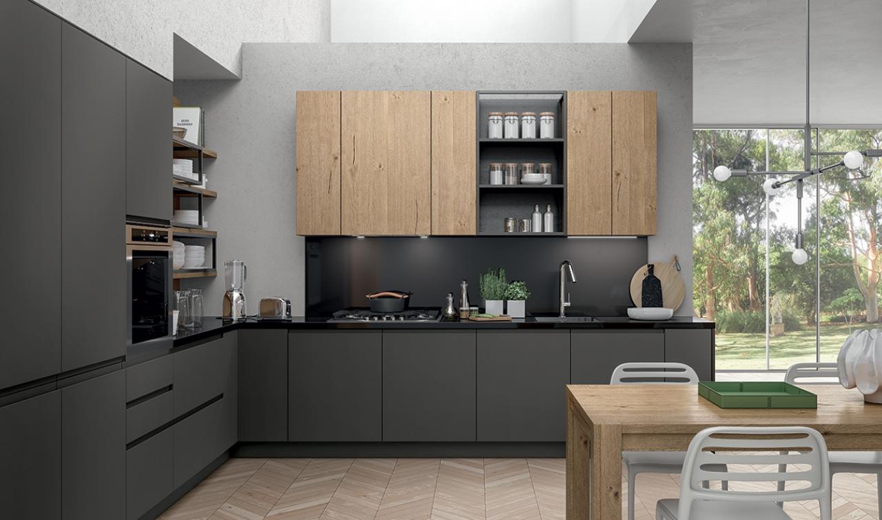 Modern Kitchen Arredo3 Wega Model 02 - 02