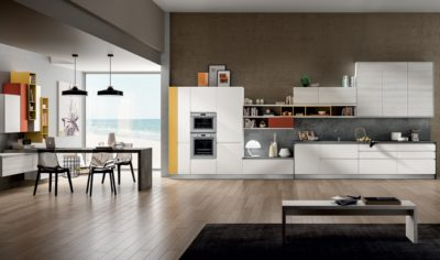 Modern Kitchen Arredo3 Wega Model 03 - 01