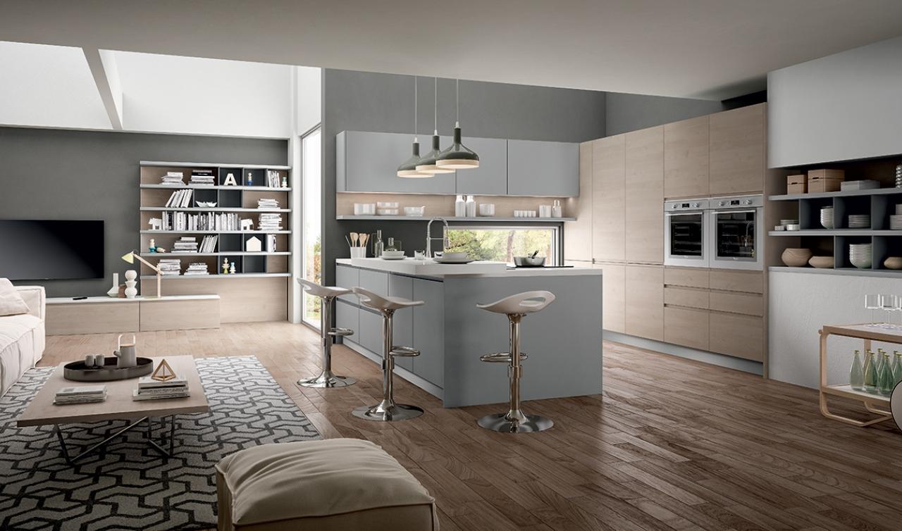 Modern Kitchen Arredo3 Wega Model 04