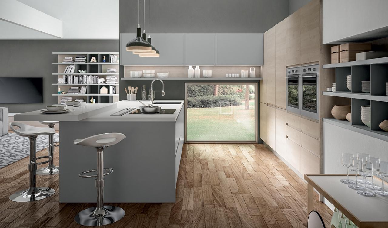 Modern Kitchen Arredo3 Wega Model 04 - 02