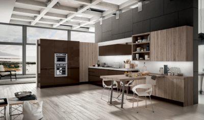 Modern Kitchen Arredo3 Wega Model 05 - 01