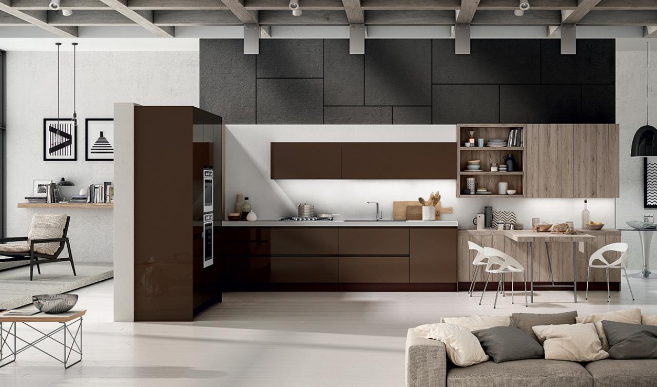 Modern Kitchen Arredo3 Wega Model 05 - 02