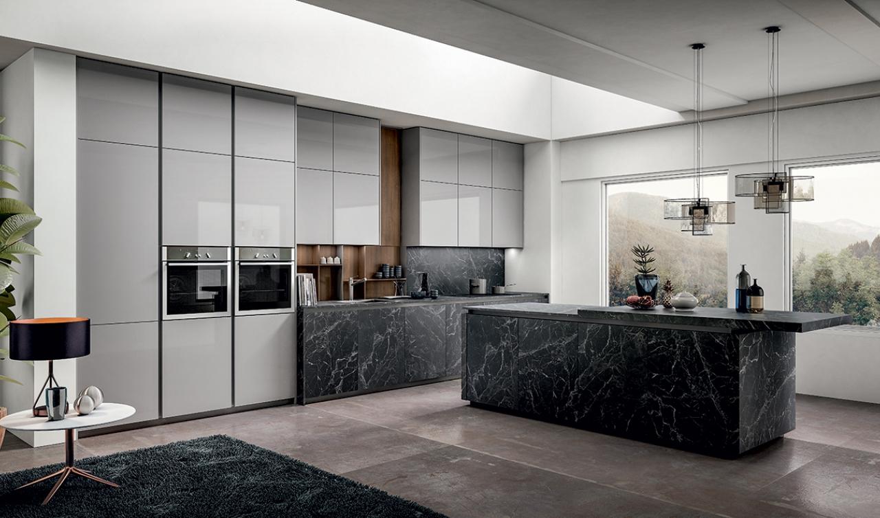 Modern Kitchen Arredo3 Zetasei Model 01