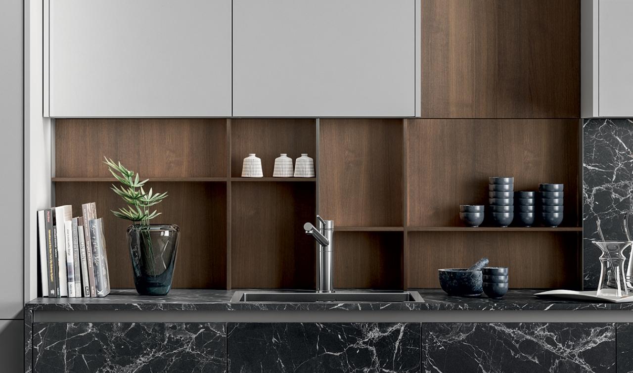 Modern Kitchen Arredo3 Zetasei Model 01 - 02