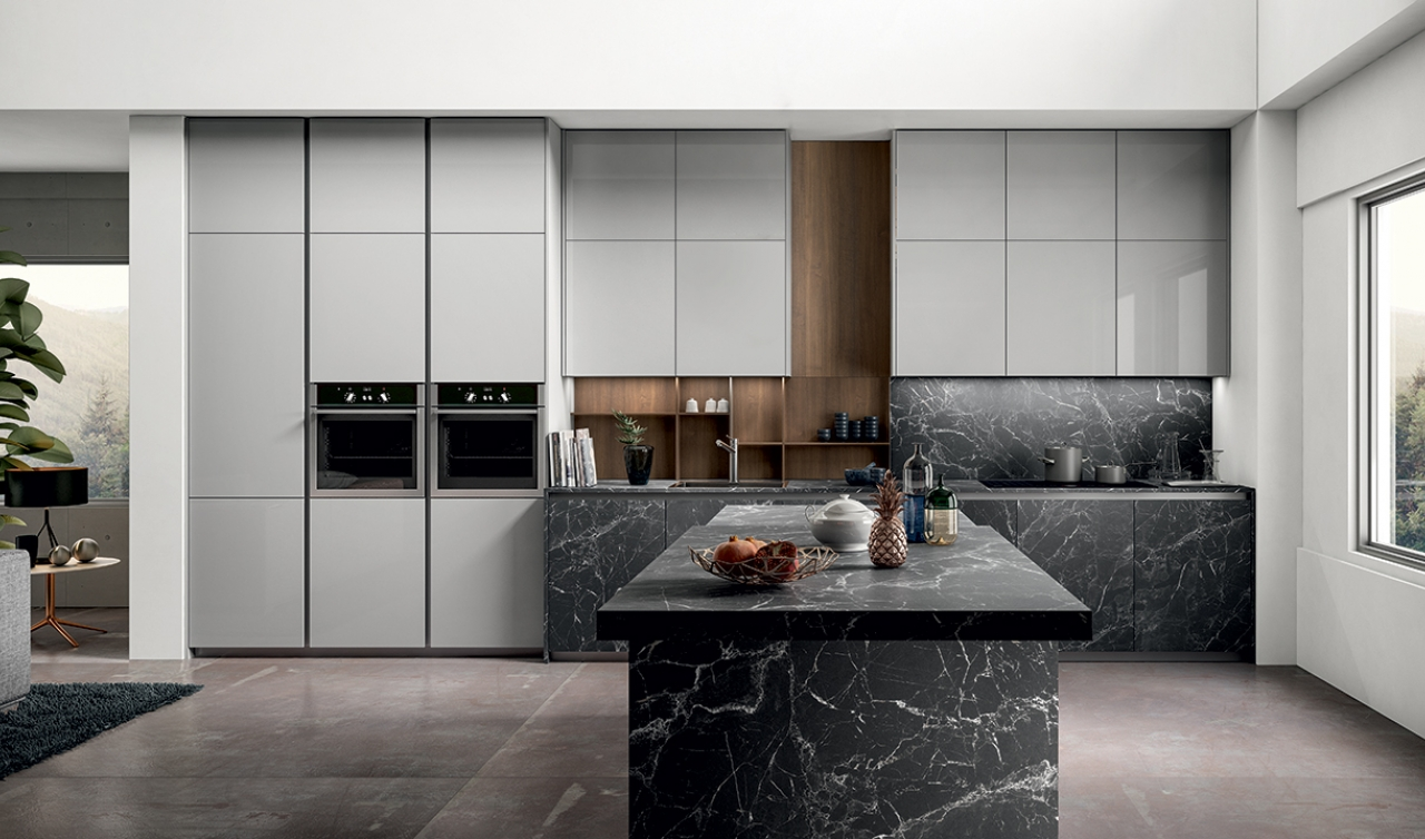 Modern Kitchen Arredo3 Zetasei Model 01 - 05