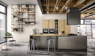 Modern Kitchen Arredo3 Zetasei Model 02 - 01