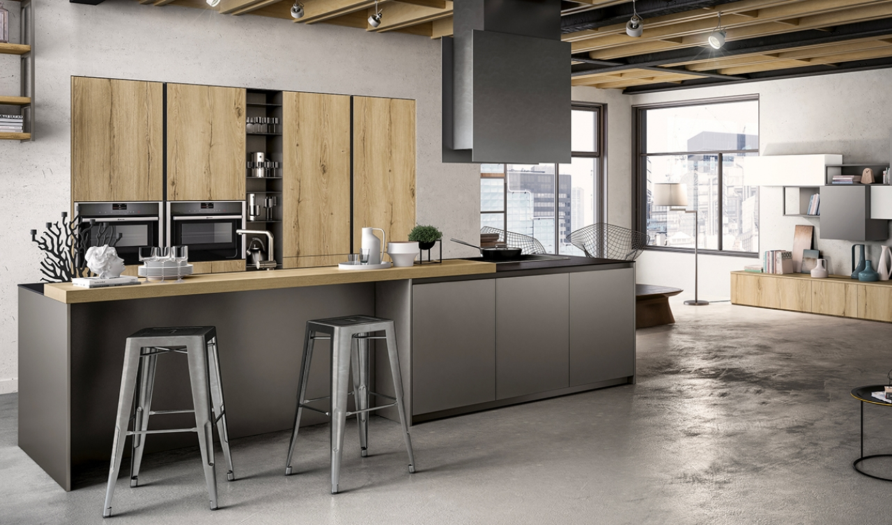 Modern Kitchen Arredo3 Zetasei Model 02 - 02