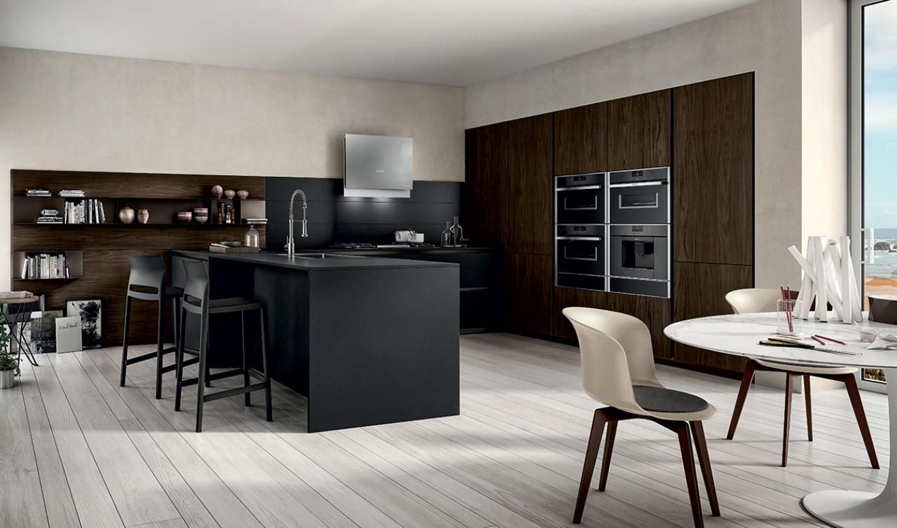 Modern Kitchen Arredo3 Zetasei Model 03