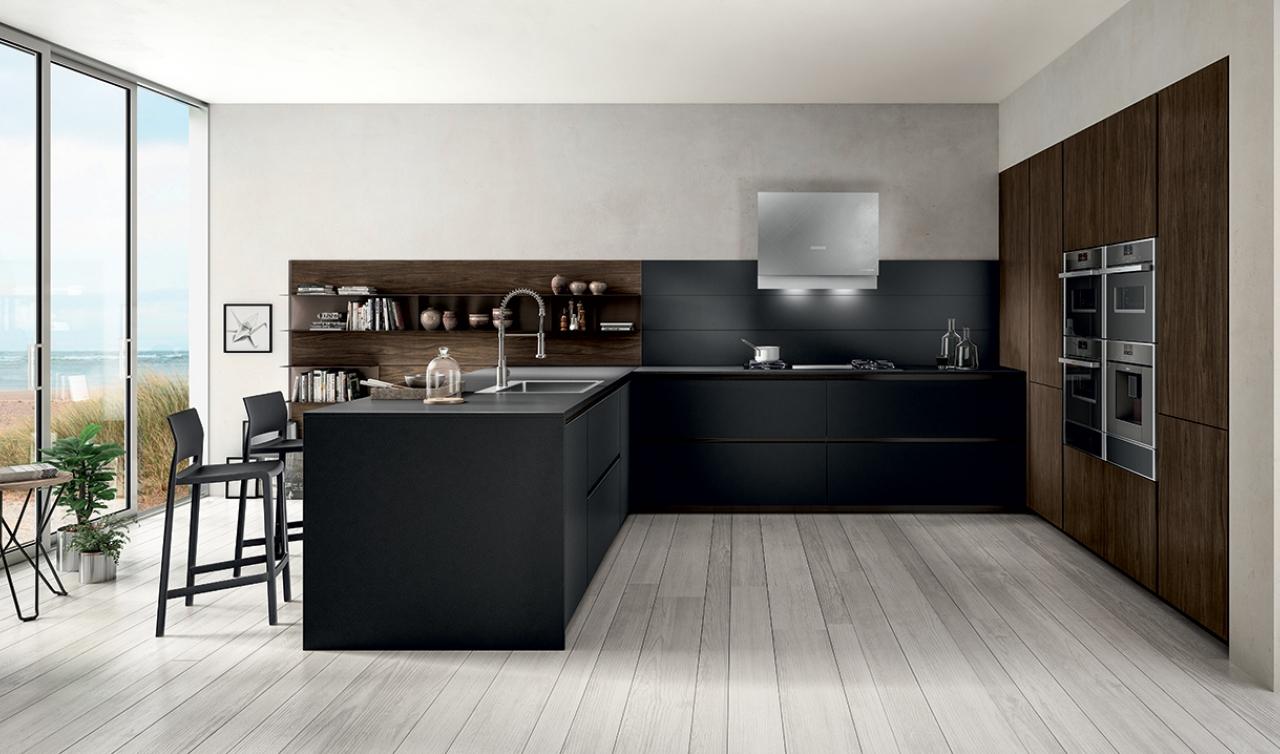 Modern Kitchen Arredo3 Zetasei Model 03 - 02