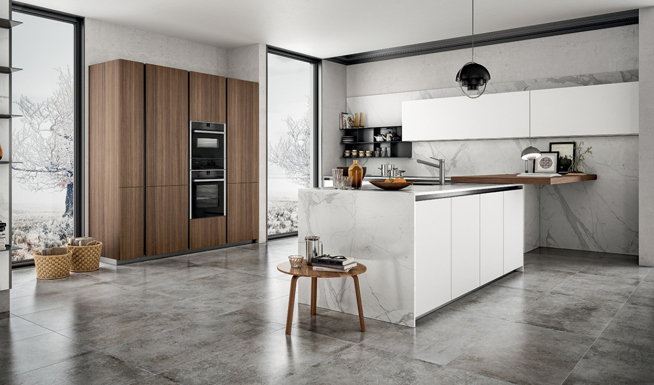 Modern Kitchen Arredo3 Zetasei Model 04