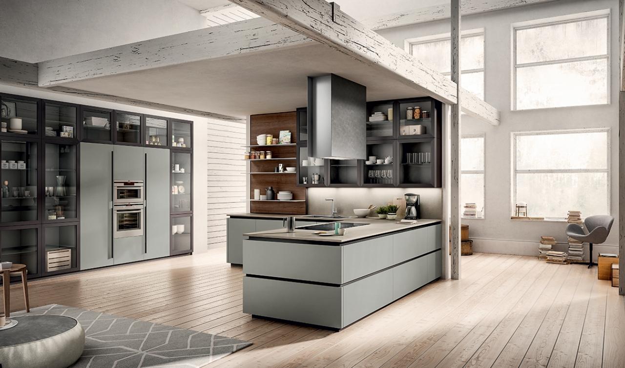 Modern Kitchen Arredo3 Zetasei Model 05