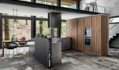 Modern Kitchen Arredo3 Zetasei Model 06 - 02