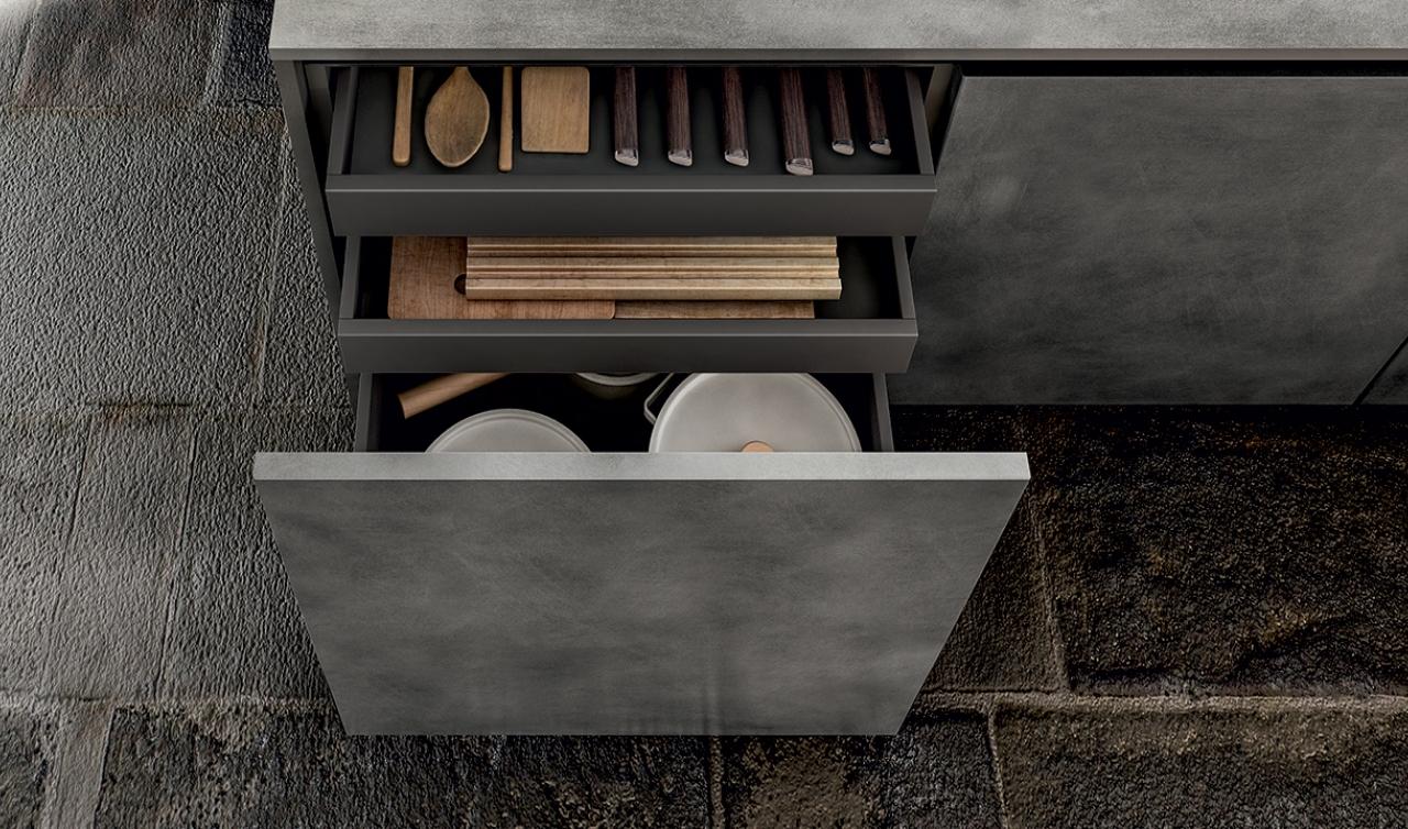 Modern Kitchen Arredo3 Zetasei Model 06 - 05