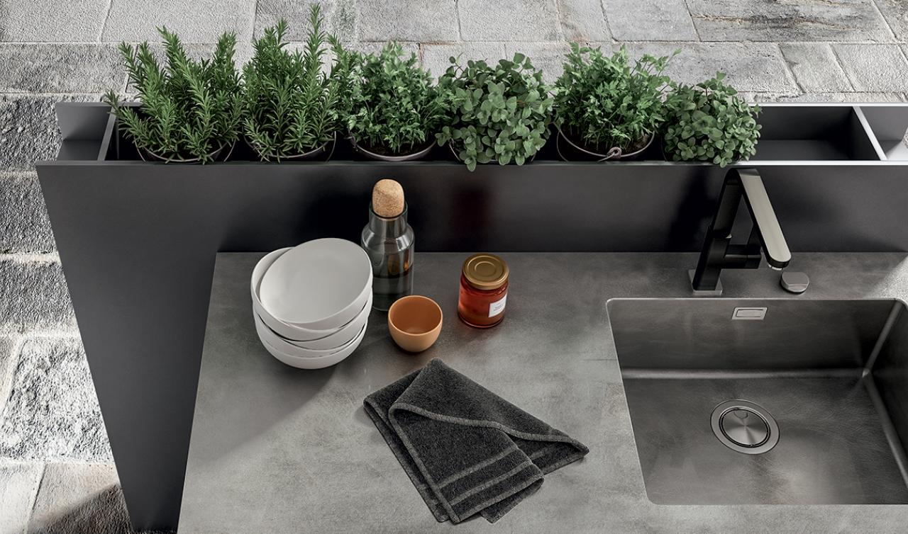 Modern Kitchen Arredo3 Zetasei Model 06 - 06