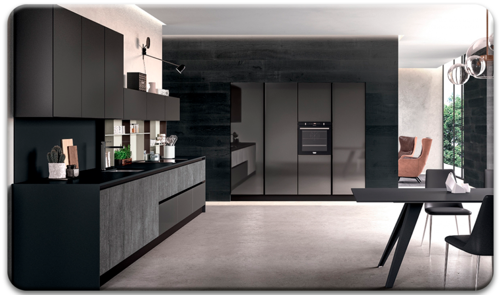 Casa Interior Catálogo cocinas modernas Arredo3 Glass Modelo 04