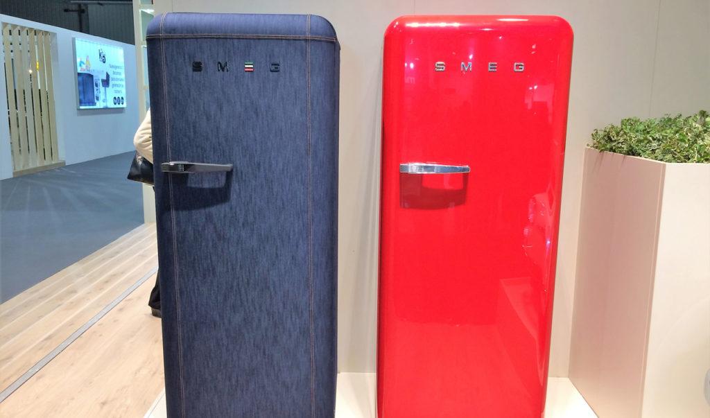 Cevisama refrigerator from SMEG.