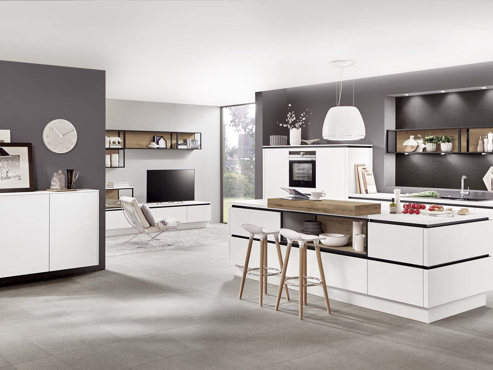 Modern Kitchen Küchentime Fashion 168