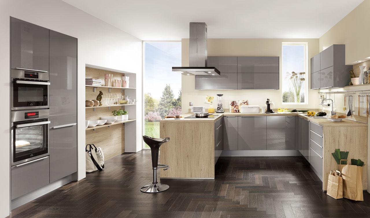 Modern Kitchen Küchentime Focus 465