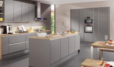 Modern Kitchen Küchentime Laser 413 Line N