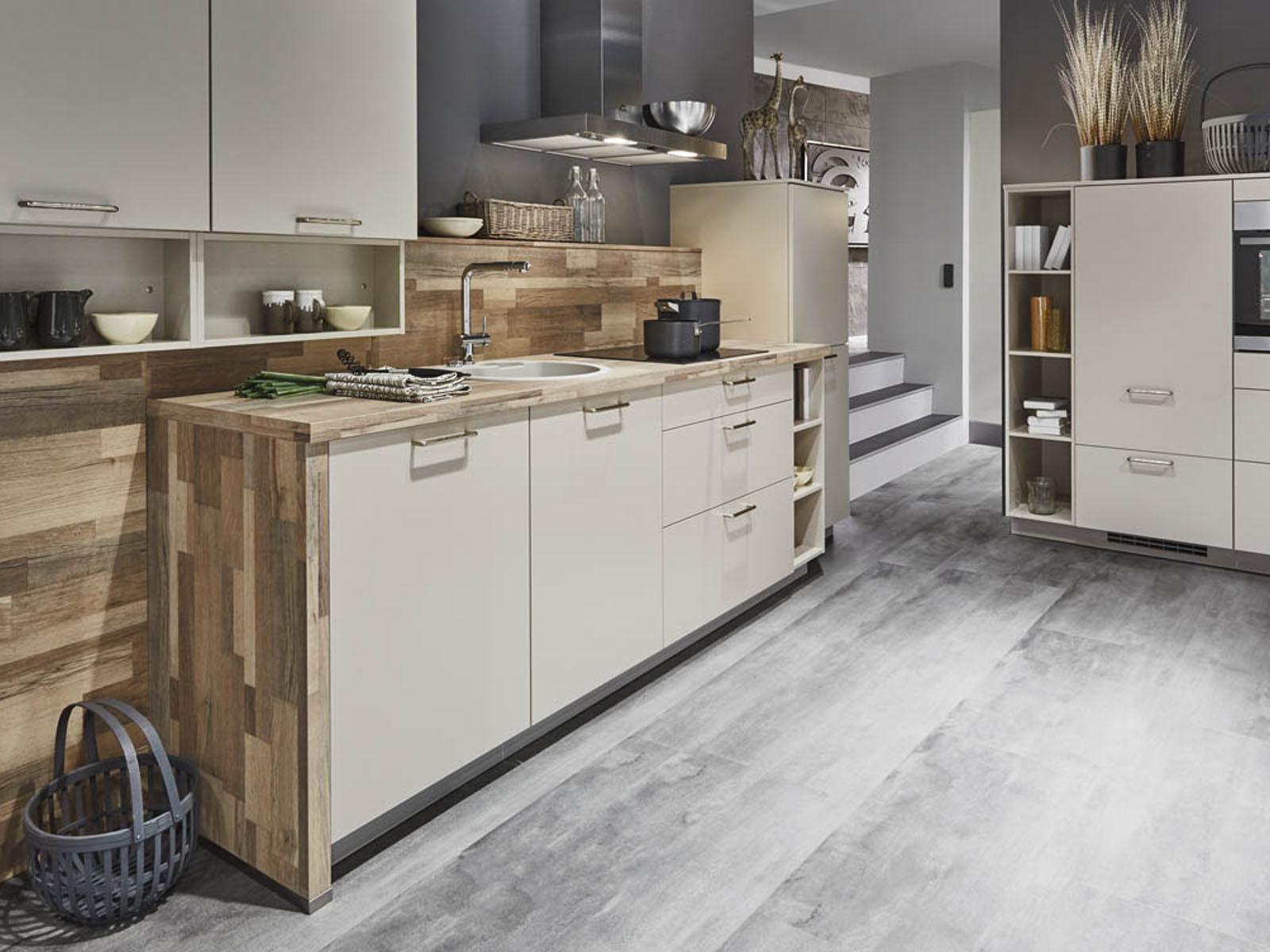 Modern Kitchen Küchentime Laser 415