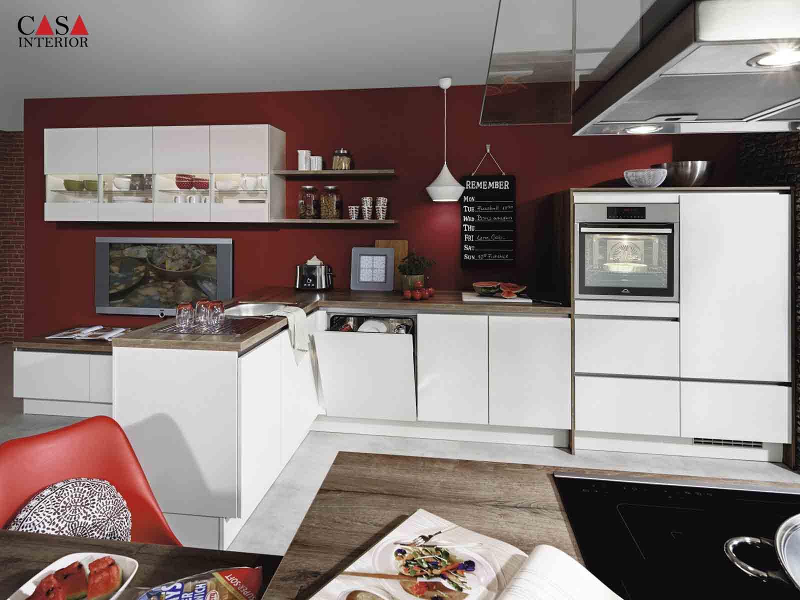 Modern Kitchen Küchentime Laser 416