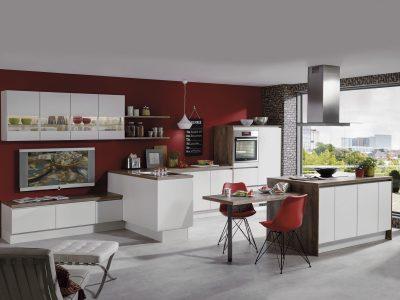 Modern Kitchen Küchentime Laser 416 N