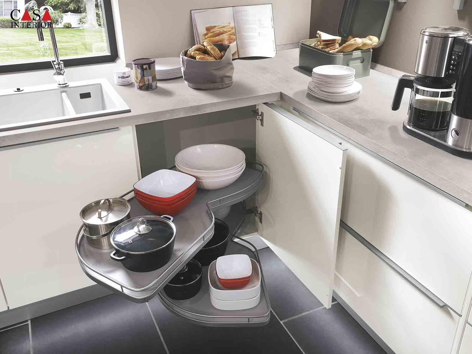 Modern Kitchen Küchentime Lux 814
