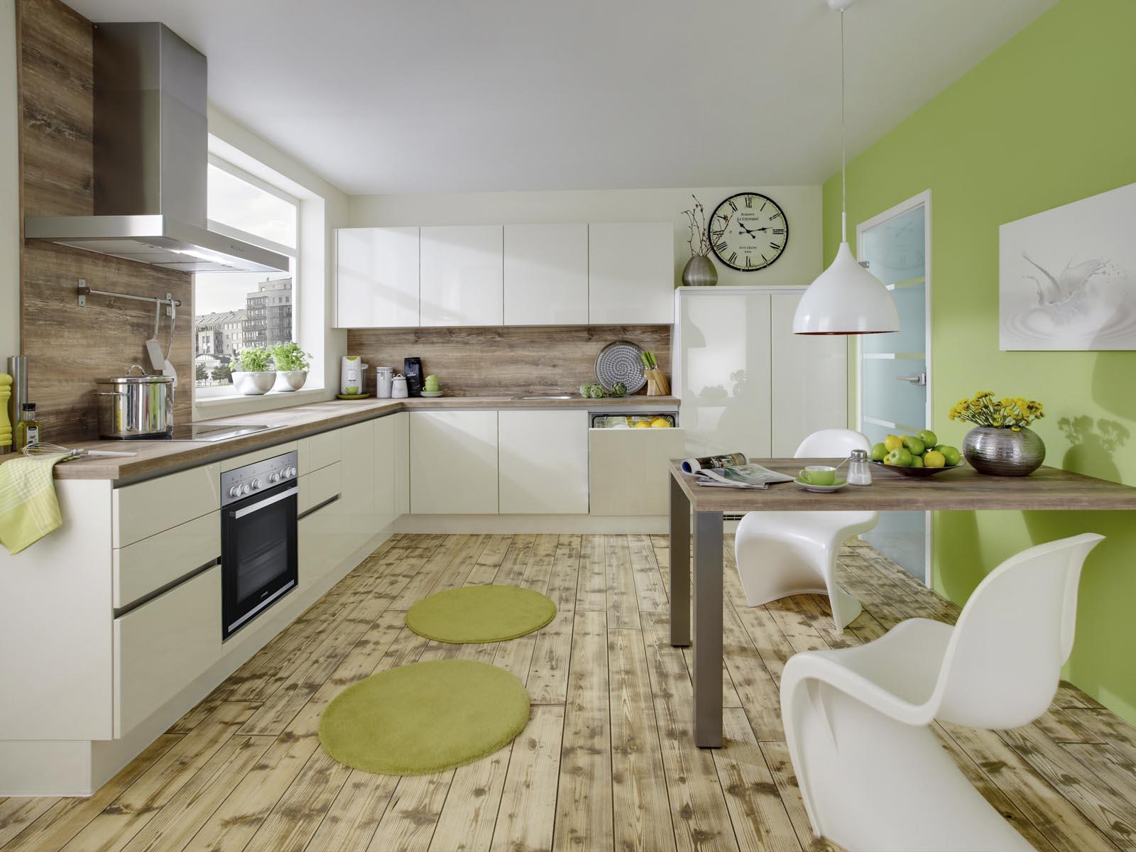 Modern Kitchen Küchentime Lux 816