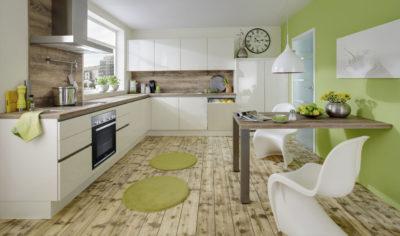 Modern Kitchen Küchentime Lux 816 Line N