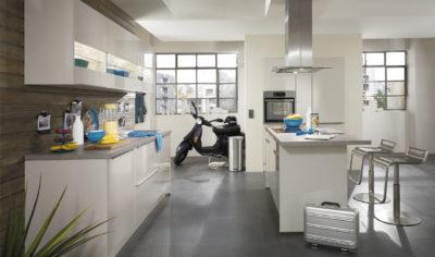 Modern Kitchen Küchentime Lux 838