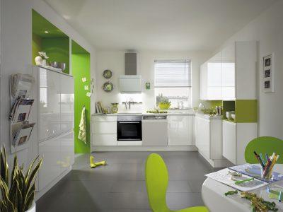 Modern Kitchen Küchentime Pura 834